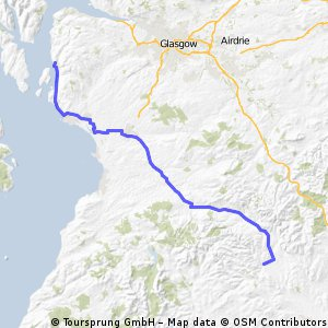 Day 9 Lejog (Thornhill to Largs)