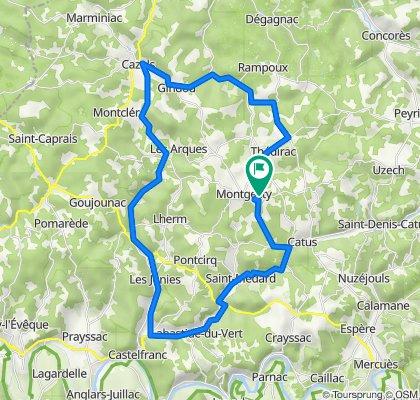 De Bédé, Montgesty à Bédé, Montgesty
