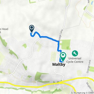 14 Huntington Way, Rotherham to 7 Norwood Close, Rotherham