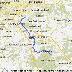 Villeneuve St Georges >Samois-Sur-Seine