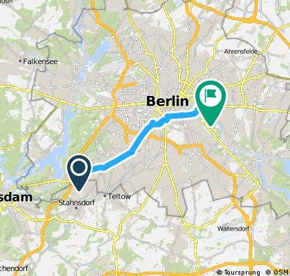 Schlachtensee - Frankfurter Tor