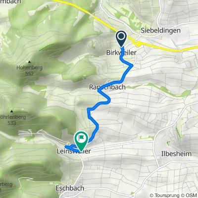 Trifelsstraße 10, Birkweiler nach Hauptstraße 32, Leinsweiler
