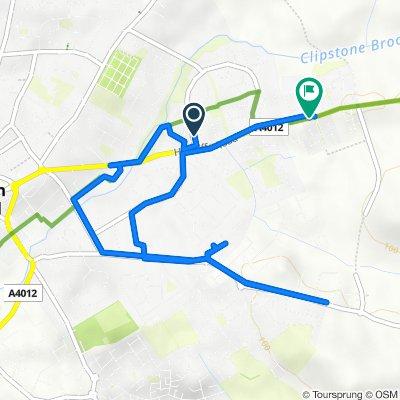 14 Cetus Crescent, Leighton Buzzard to Hockliffe Road, Leighton Buzzard