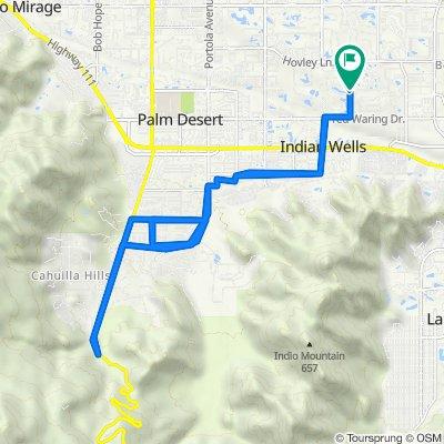 43131 Virginia Ave, Palm Desert to 42957–42999 Virginia Ave, Palm Desert