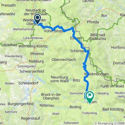 Weiden-Cham-112km