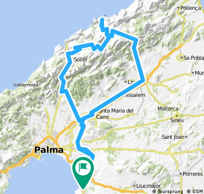Arenal-Tankstelle-Calobra-Puig Major-Soller-Arenal