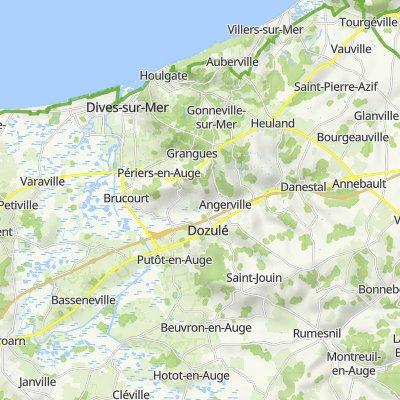 De 40 Rue de la Corniche, Houlgate à 2–136 Rue des Haras, Beuvron-en-Auge