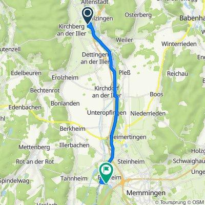Werte, Kirchberg an der Iller nach Illerstraße 12–14, Buxheim