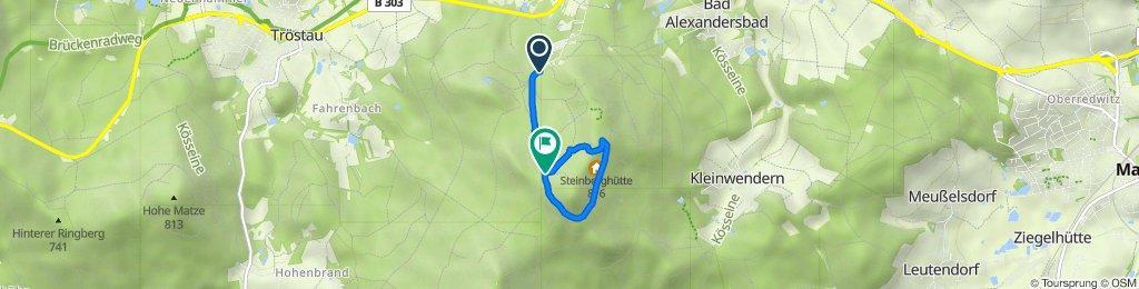Route von Luisenburg, Wunsiedel