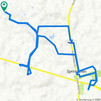 490 Green Meadows Cir, Springtown to 490 Green Meadows Cir, Springtown