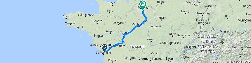 Route nach 38 Rue Joseph Kessel, Paris