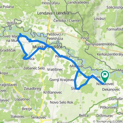 Novakovec-Peklenica-Žabnik-Selnica-Ms-G.Kraljevec-Novakovec