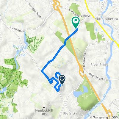 13–19 Fieldstone Ln, North Billerica to 85 Rangeway Rd, North Billerica