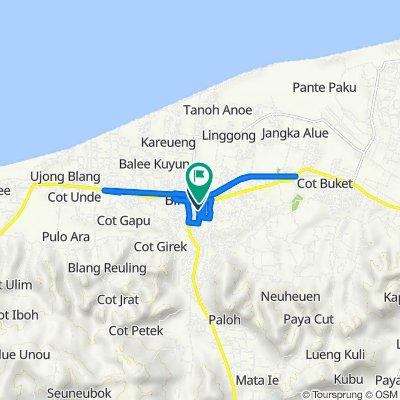 Jalan T. Syech Hamid, Kota Juang to Jalan Professor A. Majid Ibrahim 4, Kota Juang