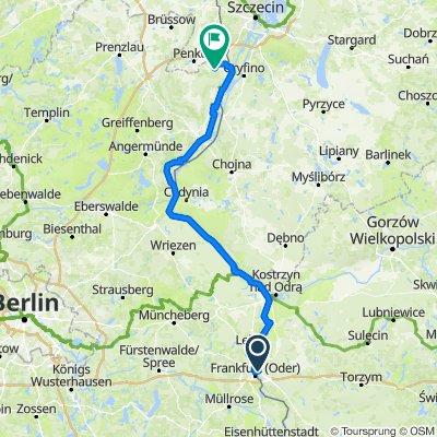 Frankfurt/O. - Küstrin - Tantow