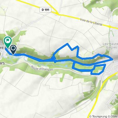 De 18 Route de la Pierre Levée, Saint-Hilaire à Montoir de la Croix, Saint-Hilaire