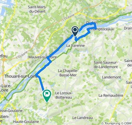 De L'Île Dorelle, Le Cellier à Les Renaudières 250, Le Loroux-Bottereau