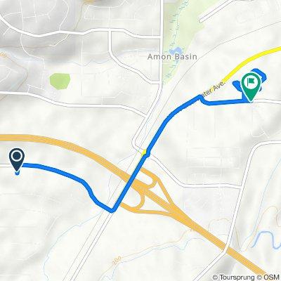 103907 E Wiser Pkwy, Kennewick to 10001–10099 W Tenth Ave, Kennewick