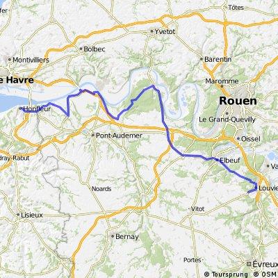 BVCC Honfleur to La Haye-le-Comte
