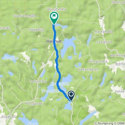 Törnerydsvägen 684, Trensum nach Halasjövägen 1260-4, Trensum