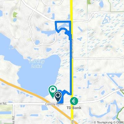 5922–5964 Oakshadow St, Orlando to 6040 Oakbend St, Orlando