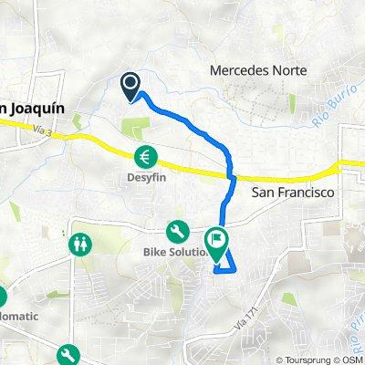 Diagonal 7A, San Jose to Alameda P, San Jose