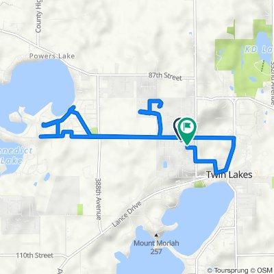 Annex subdivision route
