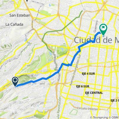 De Vasco de Quiroga 1654, 2A. Ampliación el Pirú a Ignacio Allende 18, Ciudad de México