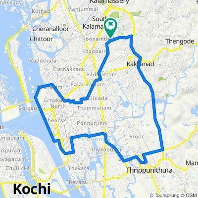 Kannoth Road, Kochi to Kannoth Road, Kochi