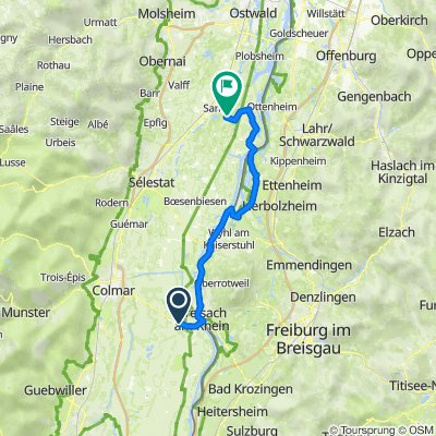 OberRhine 02 : Neuf-Brisach to Gerstheim