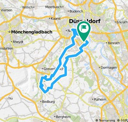 14. Düsseldorfer Bezirks RTF 2008 CLONED FROM ROUTE 83502