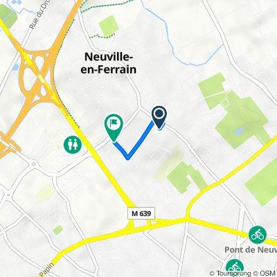 De 5 Sentier Ottevaere, Neuville-en-Ferrain à 46 Rue du Docteur Schweitzer, Neuville-en-Ferrain