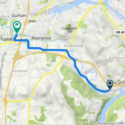 1919 Willamette Falls Dr, West Linn to 18270 SW Boones Ferry Rd, Durham