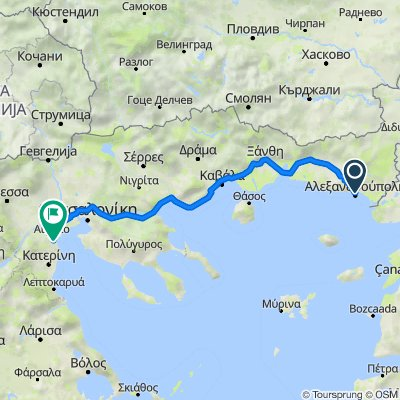 Alexandroupolis  - Thessaloniki