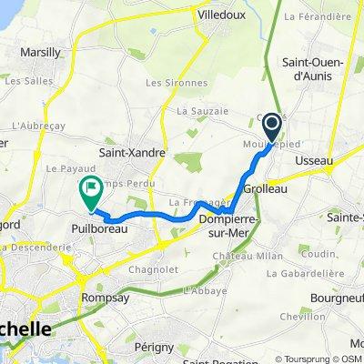 De Fief de la Bernardrie, Dompierre-sur-Mer à 53 Rue de la République, Puilboreau