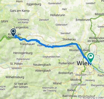 Krems - Wien