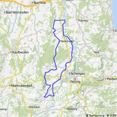 Bernbeuren - Dessau - Altenstadt - Hohenfurch - Kinsau