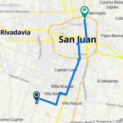 De Calle Vidart S a Avenida Guillermo Rawson Norte 1750, San Juan