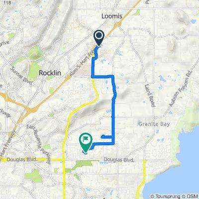 5472 Crossings Dr, Rocklin to 5125 Grosvenor Cir, Granite Bay