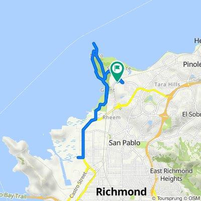 5009 Par Ct, Richmond to 5001 Par Ct, Richmond