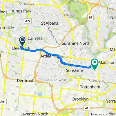 10–36 Millbank Drive, Deer Park to 32 Melon Street, Braybrook
