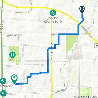 2942 Desoto Way, Columbus to 601–699 11th St, Columbus