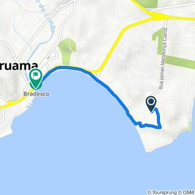 De Rua Medéa da Mota, 356, Araruama a Rodovia Amaral Peixoto, 85800, Araruama