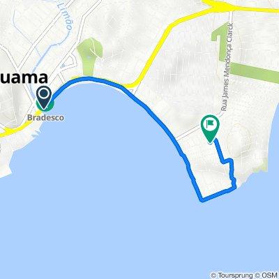 De Rodovia Amaral Peixoto, 85800, Araruama a Rua Medéa da Mota, 123, Araruama