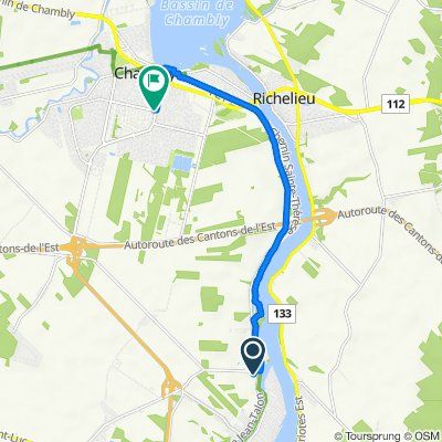 De Rue Deslippe 8, Saint-Jean-sur-Richelieu à Chambly