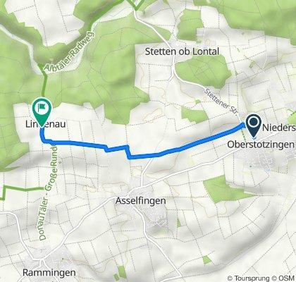 Stettener Straße 13, Niederstotzingen nach Lindenau 3, Rammingen