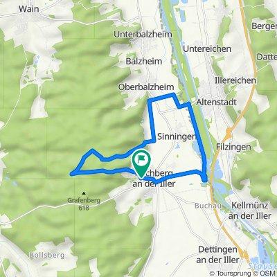 Amselweg 4, Kirchberg an der Iller nach Amselweg 6, Kirchberg an der Iller