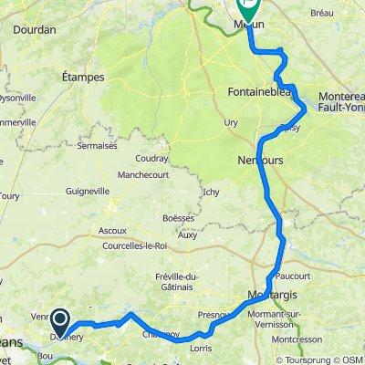 Route nach 14B Rue Paul Doumer, Melun