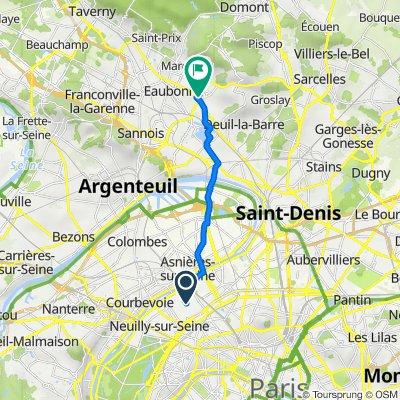 De 95 Rue du Président Wilson, Levallois-Perret à 18 Rue Carnot, Soisy-sous-Montmorency