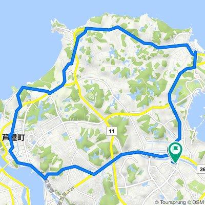 20キロサイクリングコース